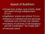 appeal of buddhism