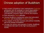 chinese adoption of buddhism