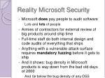 reality microsoft security2