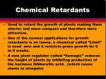 chemical retardants