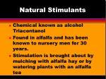 natural stimulants