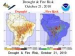 drought fire risk october 21 2010
