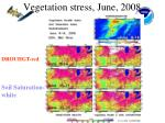 vegetation stress june 2008