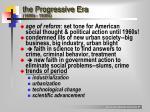 the progressive era 1890s 1930s