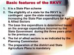 basic features of the rkvy