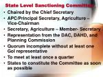 state level sanctioning committee