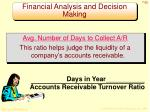 financial analysis and decision making1