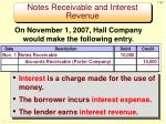 notes receivable and interest revenue2
