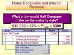 notes receivable and interest revenue4