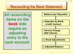 reconciling the bank statement2