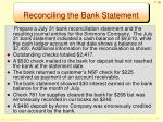 reconciling the bank statement3