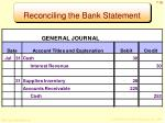 reconciling the bank statement5