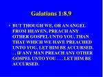 galatians 1 8 9