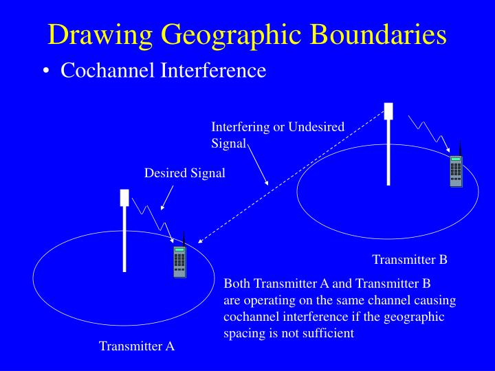Drawing Geographic Boundaries