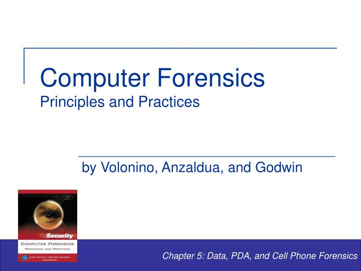 computer forensics principles and practices n.
