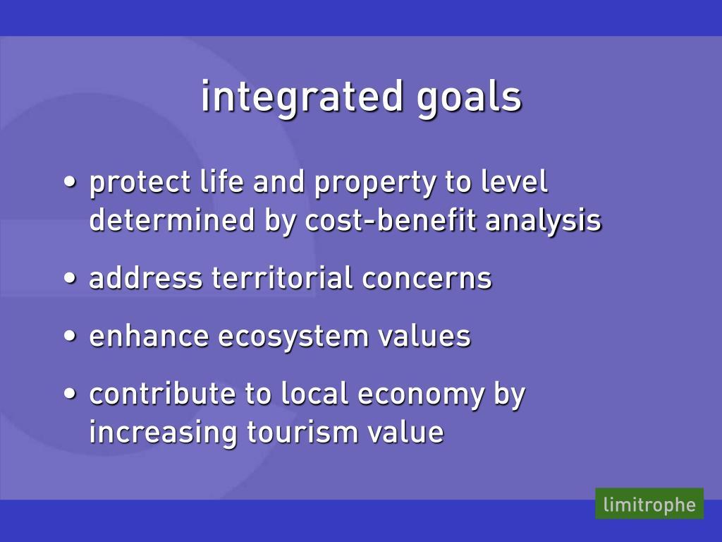 integrated goals