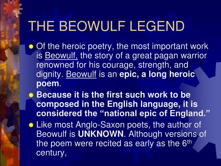 beowulf and the anglo saxon values Beowulf thesis statements and important quotes  the role of women in anglo-saxon society as reflected in beowulf  and even familial values that are present in.