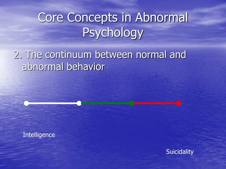 Difference between Normal and Abnormal Behaviour