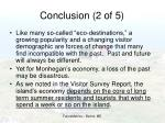 conclusion 2 of 5