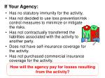 if your agency