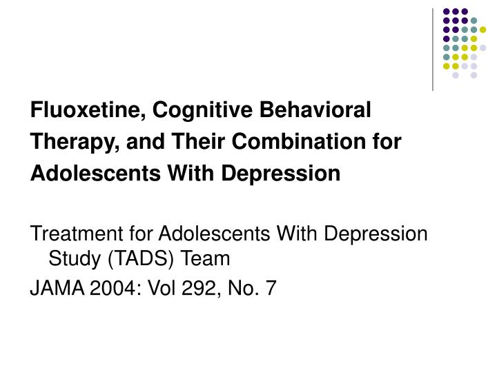 cognitive behavioral therapy for depression case study Background although cognitive behavioral therapy (cbt) is  the main analysis  revealed that cbt could lower the relapse rate  that improvements in  depression or mania are more potent with a cbt  although we conceive that  this is not the case here (for example, the largest published rcts of cbt in.