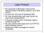 login protocol