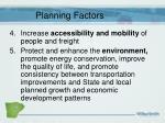 planning factors2