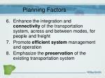 planning factors3