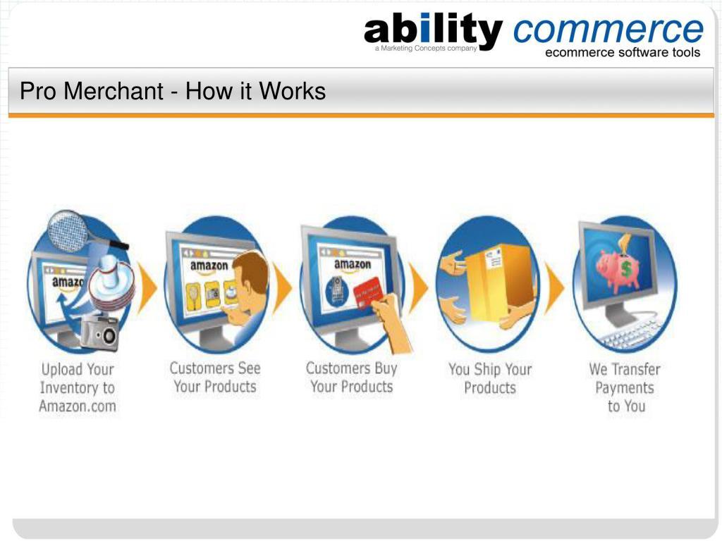 Pro Merchant - How it Works