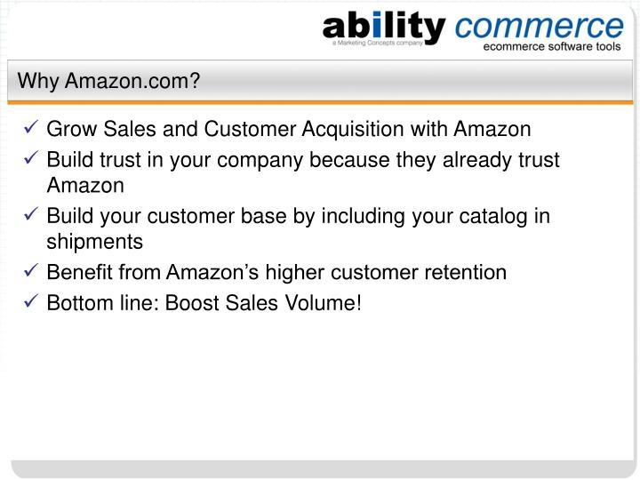 Why amazon com3