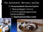 the autonomic nervous system2