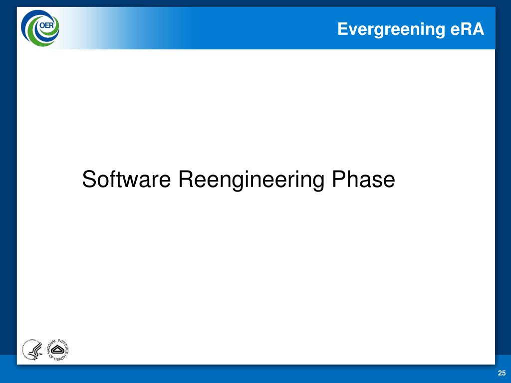 Software Reengineering Phase