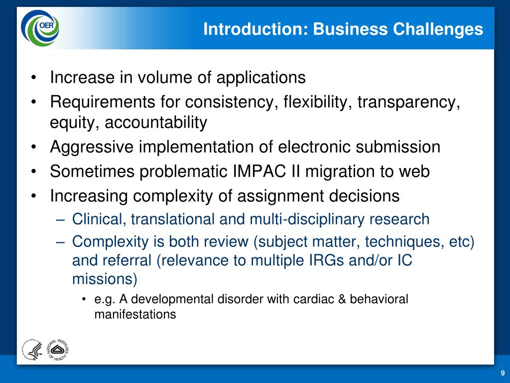 Introduction: Business Challenges
