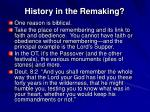 history in the remaking2