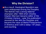 why the division14