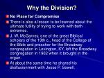 why the division20