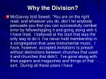 why the division21