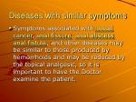 diseases with similar symptoms