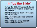 in up the slide1