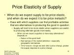 price elasticity of supply1