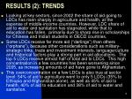 results 2 trends