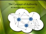 the concept of authority