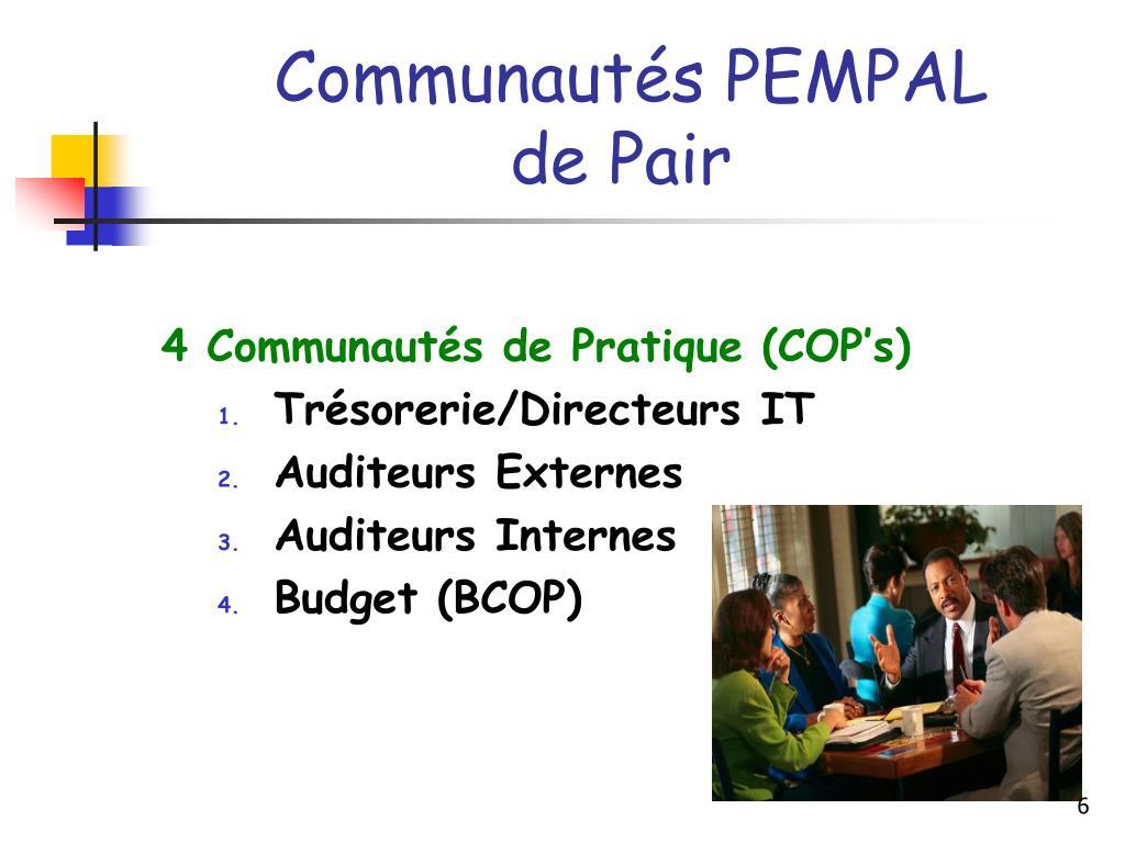 Communautés PEMPAL