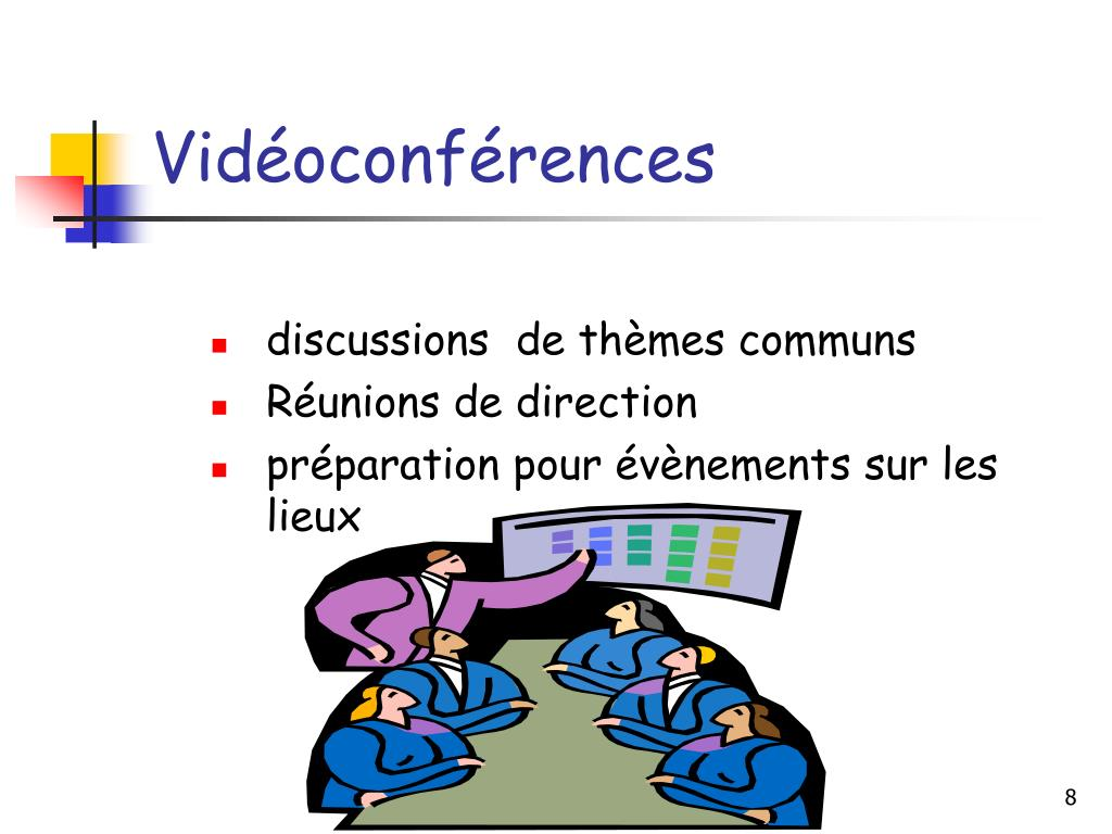 Vidéoconférences