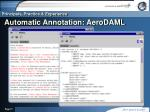 automatic annotation aerodaml
