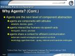 why agents cont