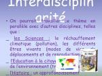 interdisciplinarit1