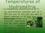 temp ratures et hydrom trie2