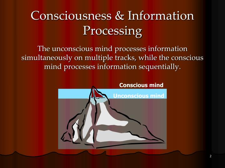 the unconscious process Unconscious thought processes have been discussed since the time of aristotle another surge of speculation about the nature and function of unconscious processes occurred around 1900-1920.