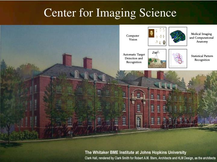 Center for imaging science